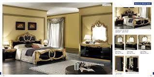 Old Fashioned Bedroom Furniture Decoration Black Vintage Furniture With Black Antique Double Headboard