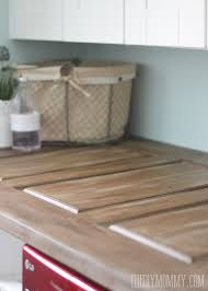 make a laundry room countertop from an old door the diy mommy intended for diy design