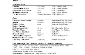Perfect Opera Singer Curriculum Vitae Crest Example Resume And