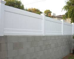 vinyl solid privacy wall extension