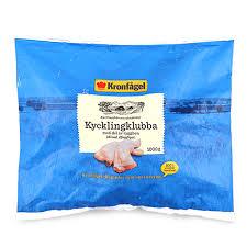 Vi ingår i scandi standard, nordens största. Frozen Kronfagel Chicken Whole Leg 1 Kg Sweden South Stream Market