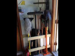 home organizing project organized garden tools