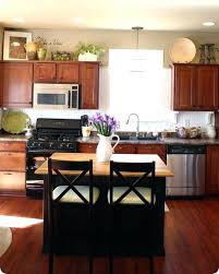 cabinet top decoration creative necessary landscape farmhouse paint finishes for kitchen cabinets