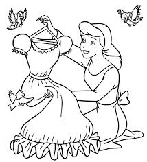 Top 50 mẫu tranh tô màu công chúa Lọ Lem xinh đẹp, dễ thương - Zicxa books