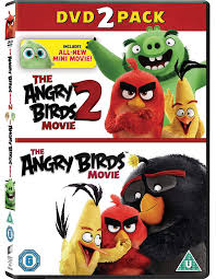 Amazon.com: The Angry Birds Movie 1 & 2 [DVD] [2019]: Movies & TV
