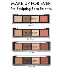 pro sculpting palette makeup forever