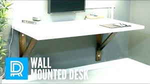 wall mounted office desk. White Wall Mounted Desk Modern Floating  Desks Office Build A Wood Wall Mounted Office Desk