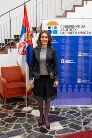 Brankica Janković, Commissioner for the Protection of Equality ...