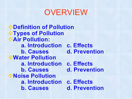 pollution ppt