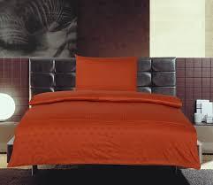 the house of emily burnt orange duvet cover set single  thread