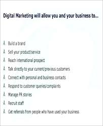 Digital Marketing Strategy Template Planning Guide Pdf Sample