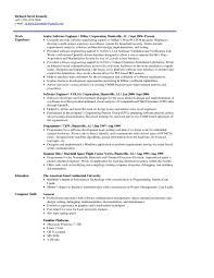 Template Software Engineer Cv Template Doc Fresh Resume Austr
