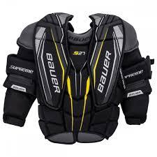 Bauer Shoulder Pad Size Chart Bauer Supreme S27 Junior Goalie Chest Arm Protector