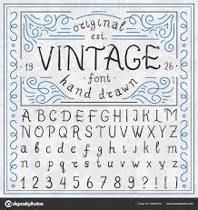 Templates Alphabet Letters Vintage Whiskey Font Handwritten Alphabet Letters