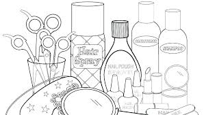 Nail Polish Coloring Pages At Getdrawingscom Free For Personal