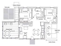 The Island House Floor Plan