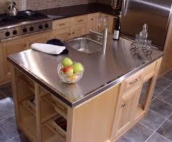stainless steel countertops portland oregon zinc bar top cost pre cut kitchen sink countertop cost of kitchen countertops stainless steel countertops
