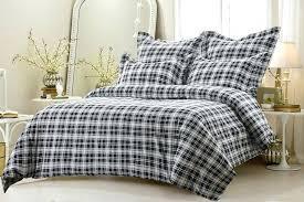 buffalo plaid comforter fleece duvet cover sham buffalo check