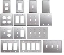 switch plate covers. Interesting Plate Brushed Satin Nickel Stainless Steel Wall Covers Switch Plates U0026 Outlet  For Plate