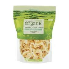 Coles <b>Organic Toasted Coconut Flakes</b> With Sea Salt | Coles Online