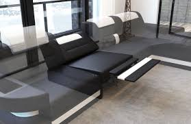 Elektrische Relax Funktion Luxus Sofas Leather Sectional