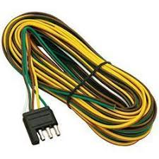 trailer lights and connectors from defender wesbar 4 way flat trailer end wire harness 25 foot wishbone