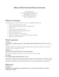medical administration resume examples resume template for office assistant joefitnessstore com