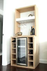 diy mini fridge shelf wine bar with fridge except do with black walnut diy mini fridge