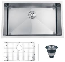 ruvati rvh7300 undermount 16 gauge 30 kitchen sink single bowl