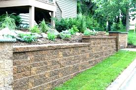enjoy how to build a block retaining wall on a slope small retaining wall ideas