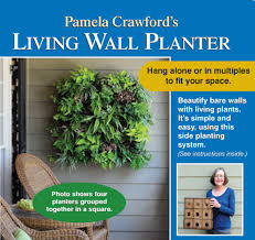 set of four living wall planters w liners