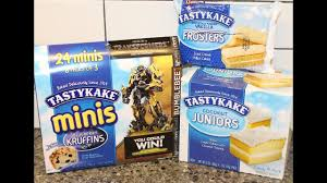 tastykake blueberry kruffins minis vanilla frosters coconut juniors review