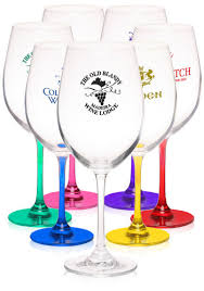 get our large whole custom printed wine glasses for weddingore