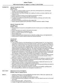 Charge Rn Resume Sample Template 9 Medmoryapp Com