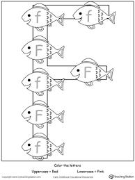 Identify Uppercase Lowercase Letter F