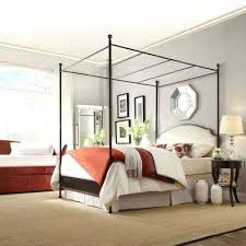 Canopy Full Beds Headboards Bedroom Furniture The Home Depot Antique Bronze  Full Canopy Bed Full Canopy
