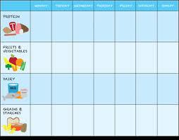 Toddler Eating Chart Printable Reward Charts Food Charts