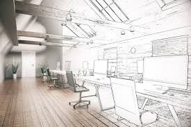 simple office design. Contemporary Office Sketch Of Office Design With Desks  Office Tips In Simple Design L
