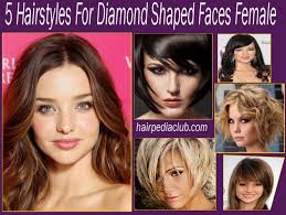 Hair Style For Narrow Face 5 hairstyles for diamond shaped faces female hairstyles easy 8361 by wearticles.com