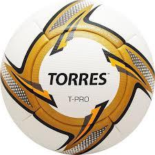 <b>Футбольный мяч TORRES T</b>-<b>Pro</b>,5 размер,белый, золотой ...