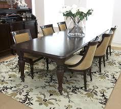 Delighful Rug On Carpet Dining Room Image Of Mediterranean Rugs Inside Models Design
