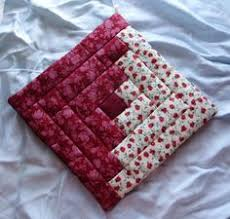 free quilted potholder patterns | Original Amish Pennsylvania ... & free quilted potholder patterns | Original Amish Pennsylvania Dutch Red  Floral Potholder | eBay Adamdwight.com