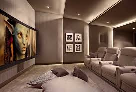 Surround Sound Living Room Design Lower Storey Cinema Room Hometheater Projector Home