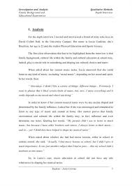 narrative interview essay example co narrative interview essay example