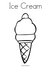 waffle cone coloring page. Exellent Page Ice Cream Coloring Pages To Print Page This   On Waffle Cone Coloring Page O
