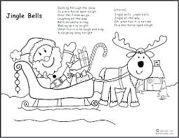 Santa Claus Sleigh And Reindeer Coloring Page Sheets His Pages