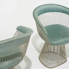 platner furniture. 433: Warren Platner / Chairs, Set Of Four (5 5) Furniture E