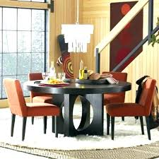 contemporary round dining table for 6 room top tables 60 inch