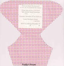 baby diaper template baby shower invitations templates theruntimecom invitation diaper