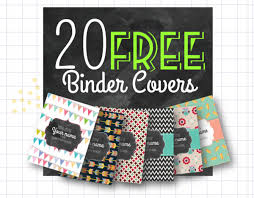Editable Binder Cover Templates Free 150 Free Unique Creative Binder Cover Templates Utemplates